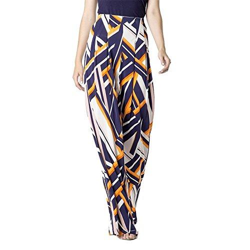 Pantalone Patrizia Pepe Donna modello largo stampa geometrica - 44