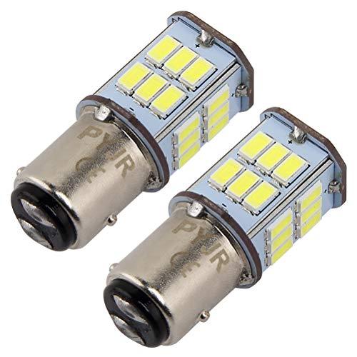 1157 bay15d led Lampadina 5 watt 10-30V Ampia tensione, 50W equivalente, luce bianca, per luci di posizione, luce dei freni, fanali posteriori, luce stop etc