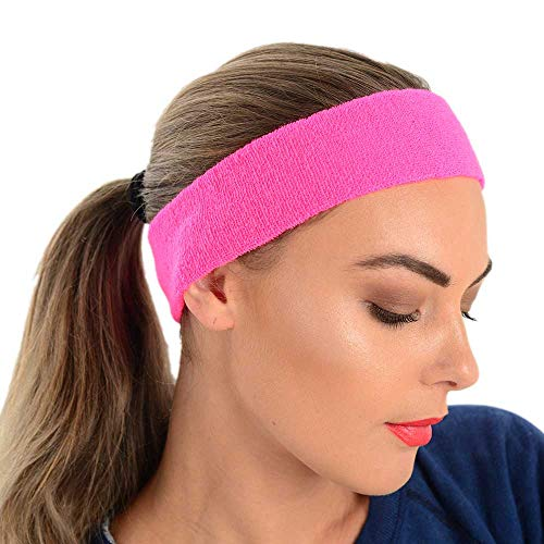 adam & eesa Sport Stirnbänder und Armbänder One Size Stretchy Bright Colors Soft Touch