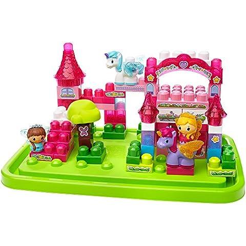 Mega Bloks 80416 First Builders Princesas y Unicornios Gran Castillo