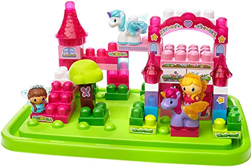 Mattel Mega Bloks First Builders CXP19 Lil' Princess - Themenbox Große Prinzessinenbox
