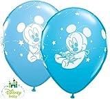 Ballon Mickey Baby Latex Non Gonflé