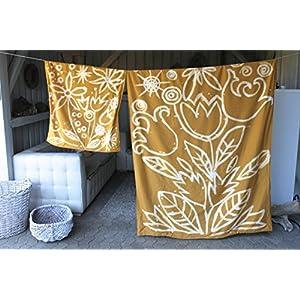 Batik Bettwäsche-Set,