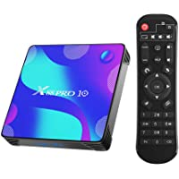 Android 10.0 TV Box,TUREWELL Android 4Go RAM 32Go ROM RK3318 Quad-Core 64bit Cortex-A53 Support 2.4/5.0GHz Dual-Band…