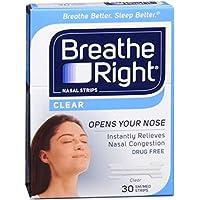 Breathe Right Nasenpflaster klar klein/mittel je 30 preisvergleich bei billige-tabletten.eu