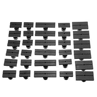 Arichtop 30PCS / Set PDR Ausbeulen ohne Lackieren Tools Kit Kleber Tabs mit Kleber Puller Arbeiten Reparatur-Werkzeuge Slide Hammer Auto Dent