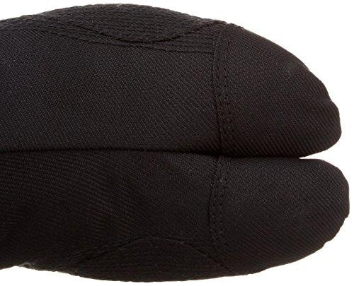 Chaussures de Ninja Jikatabi (12 Clips) (Mannen) Importe du Japon (Marugo) Noir