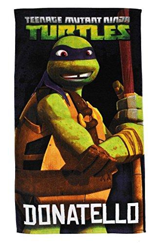 Unbekannt Badetuch Turtles 70 cm * 140 cm Handtuch Strandtuch Baumwolle - Donatello Schildkröten Teenage Mutant Ninja Turtle Jungen 70x140 für Kinder ()