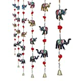 #3: Jaipuri haat Rajasthani Elephant Door Hanging Home Decor- Set of 2