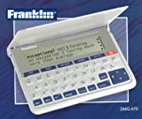 Franklin Collins English Dictionary - Diccionario electrónico con tesauro en inglés, blanco