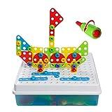 Giocattoli di Costruzione Montessori Giochi Montaggio Gioco Manualità Bambini 3 Anni+ immagine