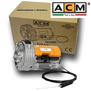 MOTOR FOR Roll-Up Door ACM Titan 170 K for Closure Metalico Metalica Roll-Up Blind Up To 170 kg Weight, For Automate Garage Doors or Blinds Commercial