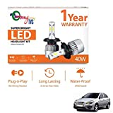 #4: myTVS HB3 40W 6000K Super Bright LED Headlight Kit-Hyundai Verna New 2017