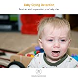 YI Überwachungskamera WLAN IP Dome Kamera 1080P Schwenkbar Sicherheitskamera mit Nachtsicht 2 Wege Audio Bewegungserkennung Baby Monitor für iOS/Andriod Fernbedienung - 5