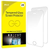 JETech J0314 Film de Protection d'écran pour iPhone SE / 5s / 5c / 5 en Verre Trempé, Lot de 2