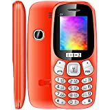KECHAODA-ONEANTWO D7 Dual SIM, 1.8 Inch, Wireless FM, Auto Call Recording(Orange)