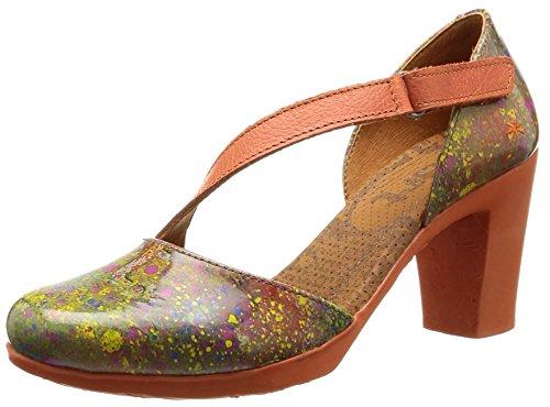 ArtRio 278 - Scarpe con Tacco Donna Multicolore (Multicolore (Urban Holi))