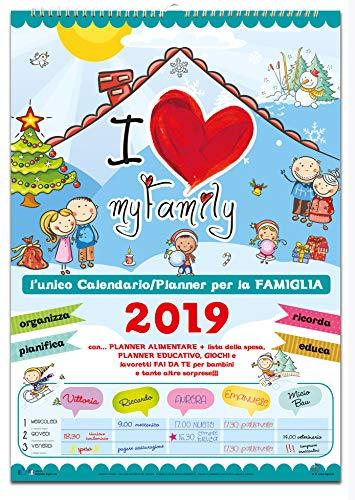 Calendario Agenda della Famiglia 2019 - My Family
