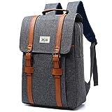 Zaino Pc Backpack 17 Pollici Per Computer Portatile Laptop 15 Pollici Anti-furto Zaino Impermeabile grigio Gray