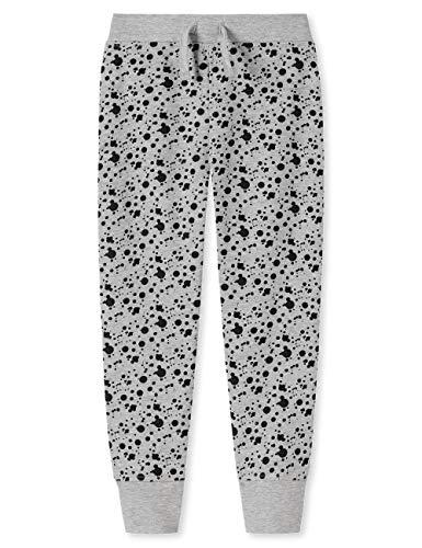 Schiesser Mädchen Punk Rock Sweathose Hose, Grau 200, (Herstellergröße: 152)