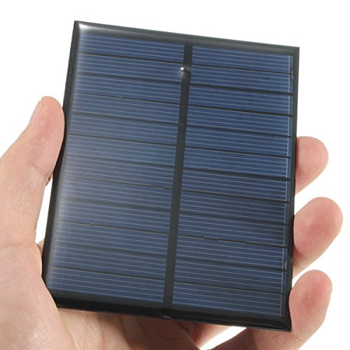 Característica:  panel solar de 6V 1.1 w-200 Material: silicio monocristalino  Energía:  1.1 w Voltaje: 6V Tamaño: 112 x 84  Paquete incluido:  1 x panel solar