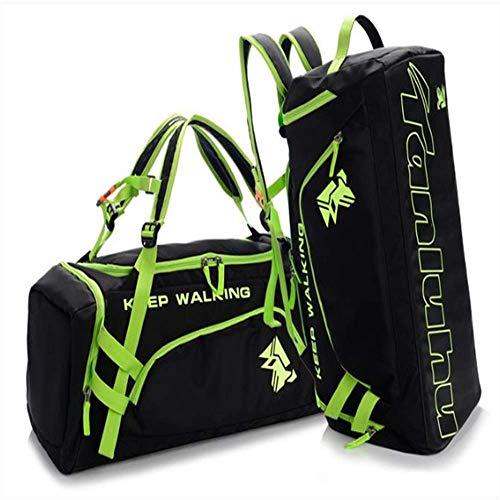 Sac de Sport WEN FENG Hot Big Capacity Outdoor Training Gym Bag Waterproof Sports Bag Fitness Bag Hommes Multifunction Épaule Voyage Yoga Sac À Main 55 X 24 X 22 CM Vert
