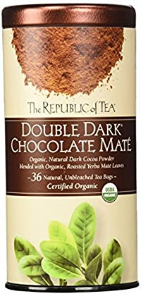 The Republic of Tea, Double Dark Chocolate Mate, 36-Count