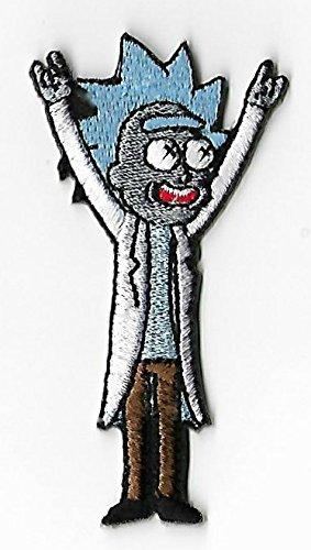 und Morty vollständig aufgesticktem Eisen/Nähen auf Badge Souvenir Aufnäher Kostüm (Birdman Kostüm)