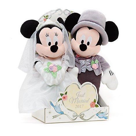 Offizielle Disney Mickey & Minnie Maus 2017 Hochzeit Soft Plüschtier