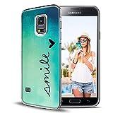 Samsung Galaxy S4 mini Hülle, Conie TPU Silikon Muster Motive Schutz Handy Hülle Handytasche HandyHülle Etui Schale Schutzhülle Case Cover, Samsung Galaxy S4 mini (4,3 Zoll (10,9 cm)