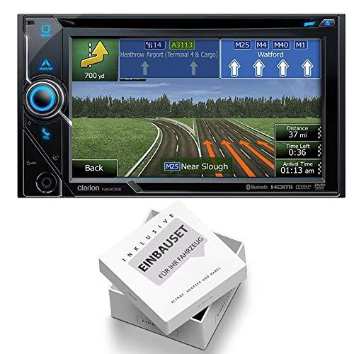 Clarion NX405E 2-DIN Navigation Media Receiver Bluetooth