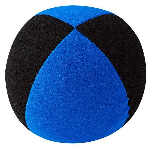 Jonglierball: HENRYS Beanbag Superior 67mm, schwarz-blau