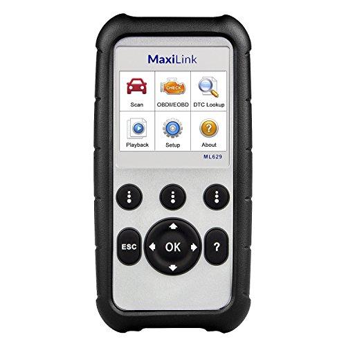 Autel ML629 OBD2 Diagnosegerät Scanner ABS/SRS / Motor/Getriebe Diagnosewerkzeug für alle Fahrzeuge, Deutsch verfügbar(Bitte kontaktieren Sie Uns zurück mit dem Modell S/N)