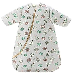 Emmala Bebé 3.5 TOG Saco De Casual Chic Dormir De Invierno Pijamas Totalmente Suaves para Niños Pequeños con Algodón De…
