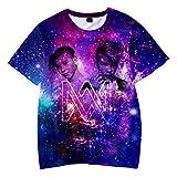 XXW Marcus & Martinus 3D Gedruckt Mode Kinder T-Shirts Sommer Kurzarm Heißer T-Shirts Trendy Streetwear Kids T-Shirts