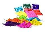 Gulal Holi powder-colors–Pack de 4, de polvo de color 100G...