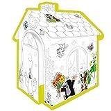Kartonhaus Spielhaus zum Bemalen 'Der kleine Maulwurf'