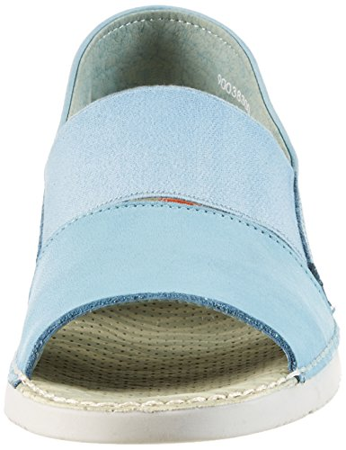Softinos Tai383sof Washed, Sandales femme Blau (Pastel Blue)