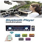 AUDEW 12V Auto Autoradio Bluetooth Voiture Récepteur Radio FM Stéréo MP3 Lecteur Support Téléphone avec USB / SD MMC Port