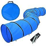 Yaheetech Hundetunnel Hundesport Training Reifen Hunde Agility Set