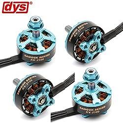 4pcs DYS Brushless Motor 2206 2700KV 3-4S for RC Drone FPV Racing (Samguk Series Wu)