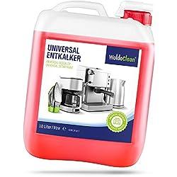 WoldoClean - Détartrant Liquide Anticalcaire pour machine à café automatiques - 10 litres