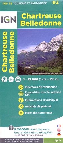Chartreuse Belledonne ign