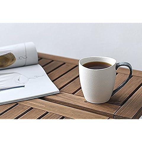 La taza tazas de cerámica oficina creativa personalidad minimalista tazón de agua tazas de café