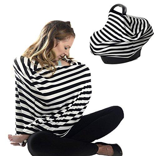 Zerlar Baby Car Seat Cover Nursing Cover Stillen Schals Einkaufswagen Cover