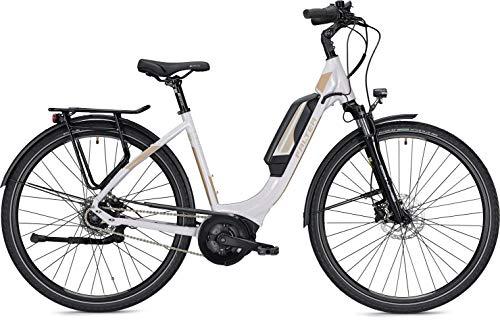 Unbekannt Falter 9.0 RT Mod. 2019 E-Bike 500Wh 28 Zoll Weiß, City Trekking Pedelec, (50cm)