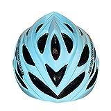 Baoblaze Casco di Sicurezza Adulti per Bici da Corsa MTB Ciclismo Bicicletta Testa Protettivo Accessori - Azzurro