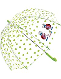 Paraguas Kukuxumusu Infantil Mariquitas Verde