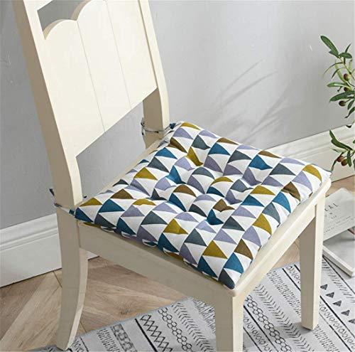 Sitzkissen, Stuhlkissen, Sitzkissen, japanische Baumwolle und Leinen, sehr flauschig, belüftet, Tatami-Kissen, ideal für Büro, Innen und Außen