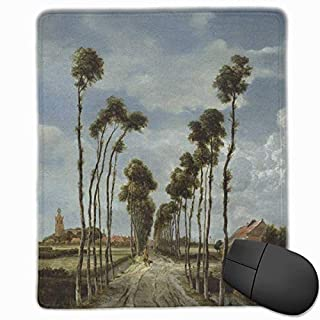 The Avenue at Middelharnis Rectangle Non-Slip Rubber Mouse Pad with Stitched Edges